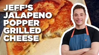 How To Make Jeffs Jalapeno Popper Grilled Cheese | Food Network