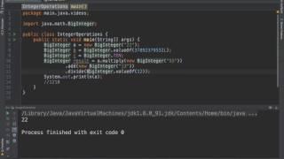 How to use BigInteger in java? - Codechef