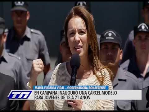 Vidal inauguró cárcel modelo para jóvenes