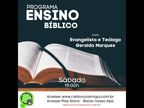 Ensino Bíblico - Tema discernimento dos espíritos