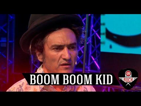 Boom Boom Kid video Entrevista CM Rock - Marzo 2017