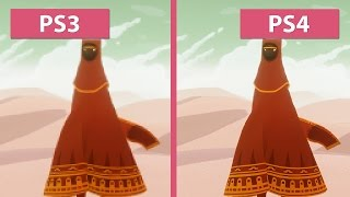 Journey – PS3 vs. PS4 Graphics Comparison [60fps][FullHD]