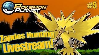 Pokemon Planet - Zapdos Livestream! #5