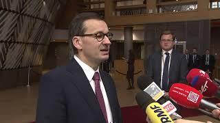 Mateusz Morawiecki w drugim dniu Rady Europejskiej