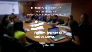preview picture of video 'Forum Jeunesse Laval'