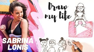 DRAW MY LIFE   SABRINA LONIS DANCER [any Language] Ma Vie En Dessin