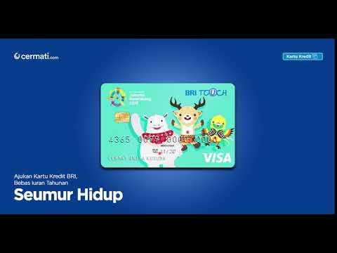 Kartu Kredit BRI - Gratis Iuran Selamanya