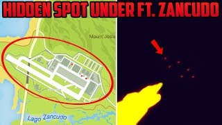 MYSTERIOUS SECRET BASE UNDER FORT ZANCUDO?! WHAT COULD ROCKSTAR BE HIDING?