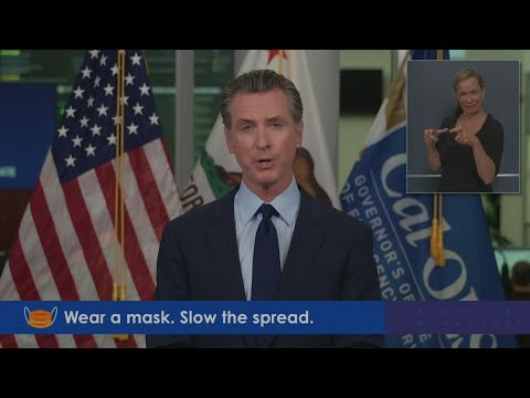 Governor Newsom speaks on California's response to wildfires and COVID-19