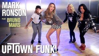 Mark Ronson   Uptown Funk Ft. Bruno Mars (Dance Tutorial) | Mandy Jiroux
