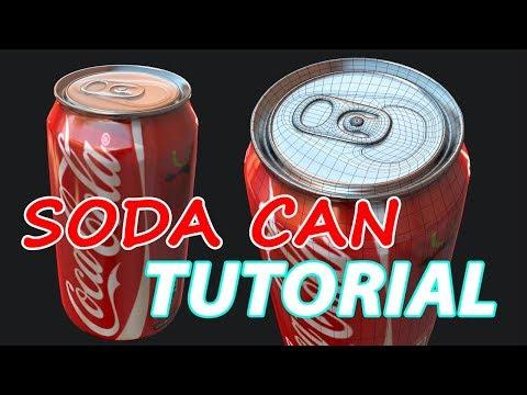 Autodesk Maya 2018 – Soda Can Tutorial