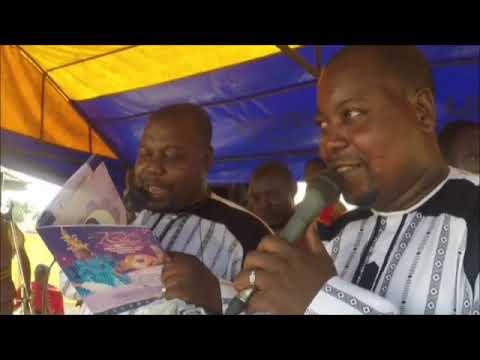 Adegbodu Twins live at the 10th Year Coronation of Oba Oke Ila