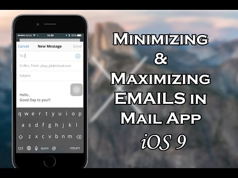 How to Minimize or Maximize Emails in iPhone Mail App