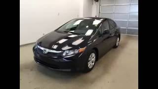 Used 2012 Honda Civic Sdn 4dr Auto LX | Davis GM Lethbridge
