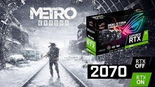 Различные настройки графики в Metro: Exodus для RTX 2070 и первые впечатления от игры
