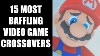 15 Most Baffling Video Game Crossovers That Completely Stumped Us