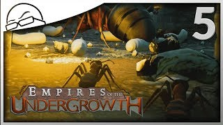 Protect the aphids!!! - Empires of the Undergrowth gameplay [Ep 5]