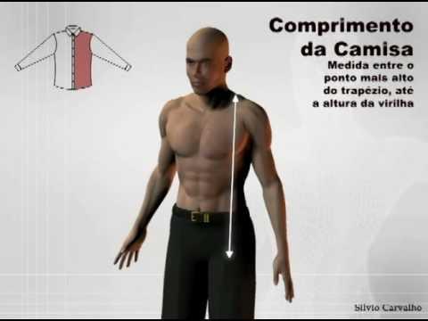 Como tirar as medidas do comprimento - Silvio Carvalho