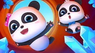 Lạc vào hang động pha lê | Kiki và những người bạn | Hoạt hình thiếu nhi hay 3D | BabyBus