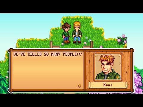 Kent Goes Crazy And Linus Reveals Wealthy Past in Stardew Valley Expansion Mod