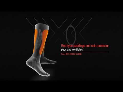 Применяемые технологии в носках X-Socks X-BIONIC