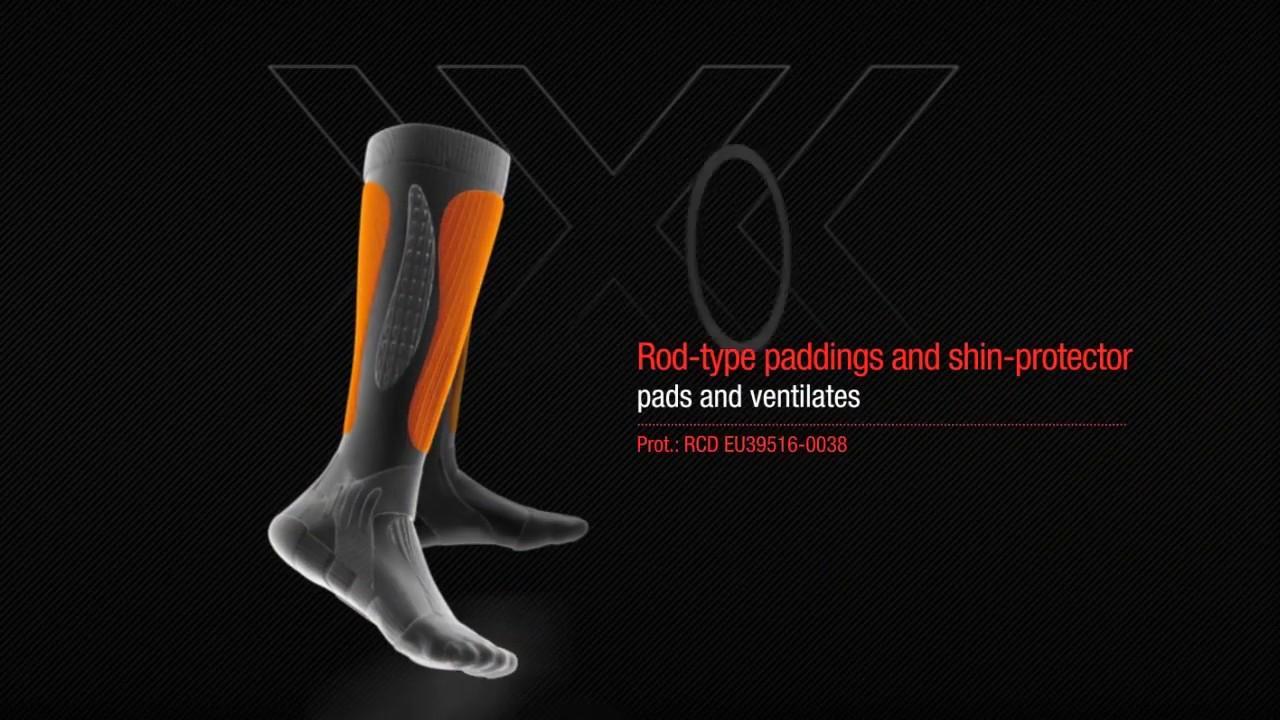 Применяемые технологии в носках X-Socks