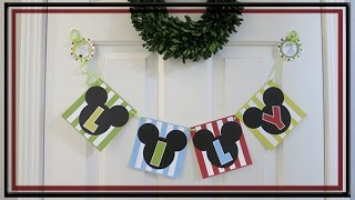 Mickey Mouse Theme 2nd Birthday Day