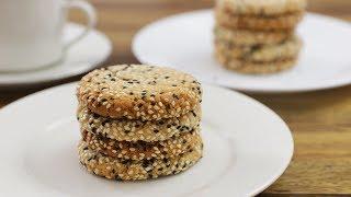 מתכון לעוגיות טחינה נימוחות