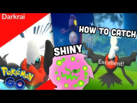 HOW TO CATCH DARKRAI IN POKEMON GO | HALLOWEEN EVENT GUIDE | HOW TO EXCELLENT THROW DARKRAI