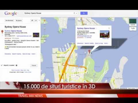 15.000 de situri turistice in 3D