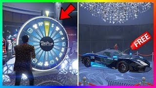 How To Win The Lucky Wheel Podium Car EVERY SINGLE TIME In GTA 5 Online! (UPDATED 2020)