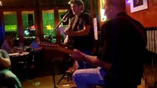 "Tom Faulkner with Anson Funderburgh @ Cadillac Pizza Pub ""get outta Austin"""