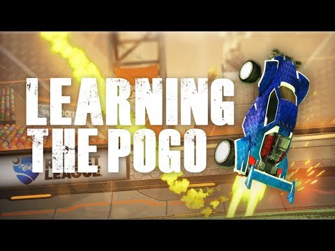 LEARNING TO POGO BOUNCE | ROCKET LEAGUE