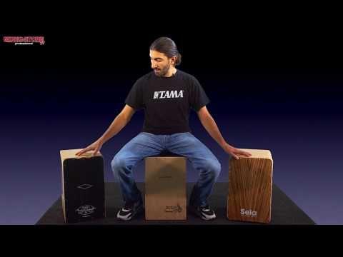 Percussion Special Cajon Vergleich (Leiva / Sela / Pepote)