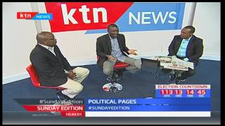 Sunday Edition: Political Pages - New details on NASA power plan - 16th April, 2017