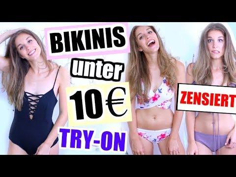 BIKINIS von AMAZON für unter 10€ anprobieren - Top oder Flop?! ♡ BarbaraSofie