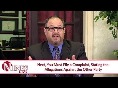 Explaining How To Start a Lawsuit: Summons and Complaint