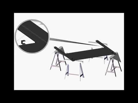OOGARDEN - Doppelflügeltor aus Aluminium EASYSIZE anpasspar