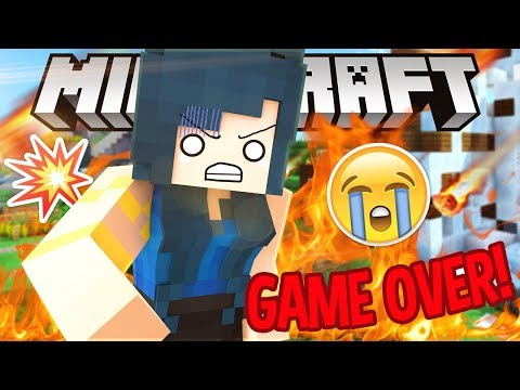 IT'S ALL GONE...IS THIS THE END?   Krewcraft Minecraft Survival   Episode 21