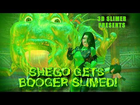 Shego Gets Booger Slimed!