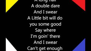 Steven Tyler - it feels so good w/ lyrics
