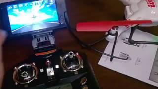Квадрокоптер WLtoys 686 подключение телефона и планшета. Обзор.