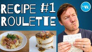 RECIPE ROULETTE -