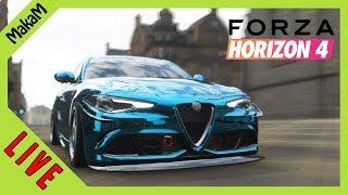 Forza Horizon 4 LIVE #11 - 30+ Wheelspin és fejlődés a Goliath-ra!