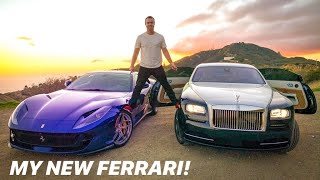 BUYING A FERRARI 812 SUPERFAST AT AGE 25 *emotional*