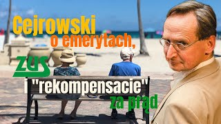 "Cejrowski o emerytach, ZUS i ""rekompensacie"" za prąd 2020/2/11"