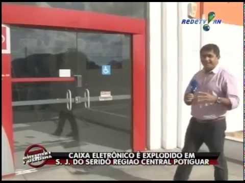 Caixa eletrônico é explodido em São José do Seridó