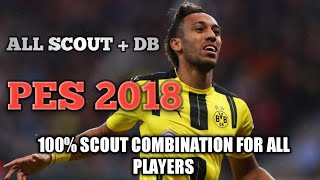 PES 2018 android scouts combination - 免费在线视频最佳电影