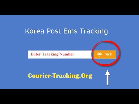 Korea Post Ems Tracking Guide