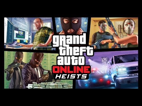 GTA V Heists Update Is 4GB, Heist Planning Unlocks at Level 12